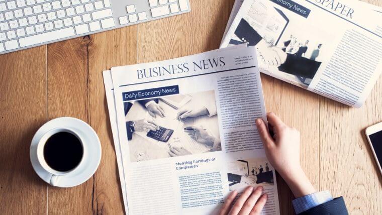 新聞代にかかる消費税率のまとめ