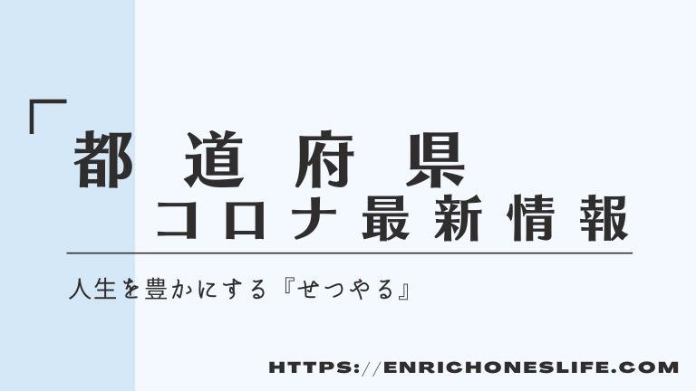 都道府県別コロナウィルス情報